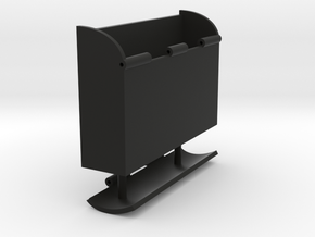 Box-Hinged in Black Natural Versatile Plastic