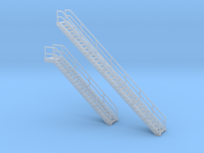 'N Scale' - Coal Loader Stairs in Smooth Fine Detail Plastic