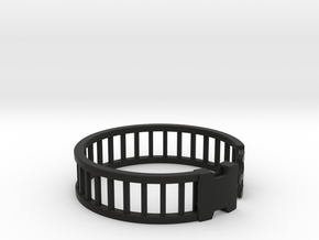 Latch Bracelet 2 in Black Strong & Flexible