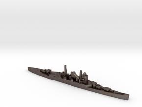 IJN Mogami cruiser 1940 1:3000 WW2 in Polished Bronzed-Silver Steel
