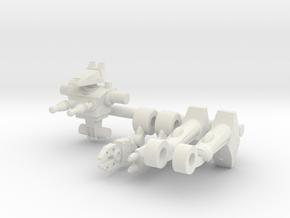 Hotshot Microclone Driver in White Natural Versatile Plastic