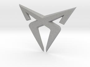 """Leon Cupra Bootlatch """"S"""" Badge - Logo Part in Aluminum"""