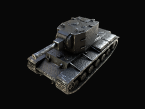 Tank - KV-2 - size Large in Polished and Bronzed Black Steel