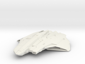 Star Citizen Mercury Star Runner in White Natural Versatile Plastic