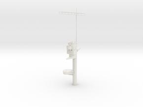 1/100 DKM Graf Zeppelinsuperstructure2 main mast in White Natural Versatile Plastic