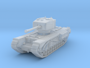 Churchill IV 75mm 1/285 in Smooth Fine Detail Plastic