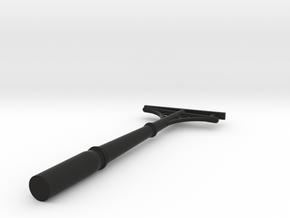 Perronmast spoor-0 in Black Natural Versatile Plastic
