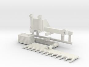 Astschere Frontlader in White Natural Versatile Plastic