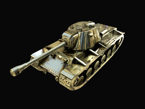 Tank - KV-3 - size Large in Polished Brass