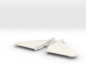 Seeker Wings & Landing Gear in White Natural Versatile Plastic
