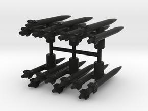 Seeker Missiles in Black Natural Versatile Plastic: Large