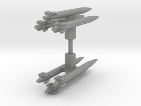 Seeker Missiles in Gray PA12: Small