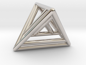 Nested Tetrahedrons in Platinum