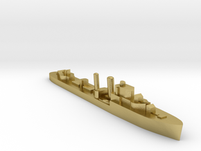 HMS Icarus destroyer 1:3000 WW2 in Natural Brass