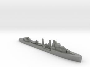HMS Ilex destroyer 1:1200 WW2 in Gray PA12