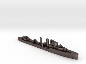 HMS Ilex destroyer 1:1800 WW2 in Polished Bronzed-Silver Steel