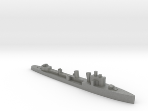 Italian Ostro destroyer WW2 1:2400 in Gray PA12
