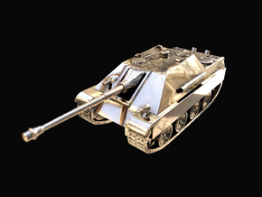 Tank - Jagdpanther - size Large in 14K Yellow Gold