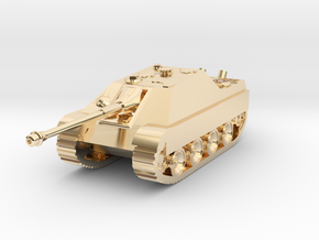 Tank - Jagdpanther - size Small in 14K Yellow Gold