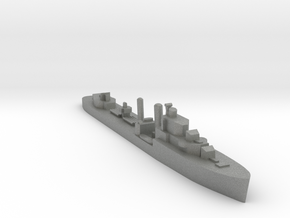 HMS Isis destroyer 1:1200 WW2 in Gray PA12