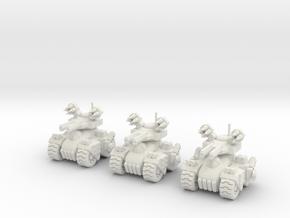 6mm - Firestorm Heavy Assault in White Premium Versatile Plastic