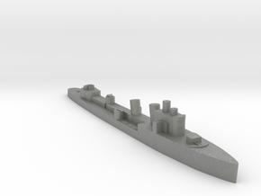Italian Nembo destroyer WW2 1:1800 in Gray PA12