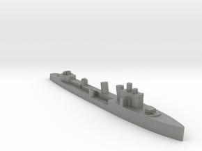 Italian Nembo destroyer WW2 1:2400 in Gray PA12