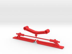 Solarion Ski Pod in Red Processed Versatile Plastic