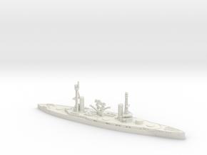 Rivadavia 1/1250 (No Turrets) in White Natural Versatile Plastic