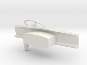 Dash-RHD-1to16 in White Natural Versatile Plastic