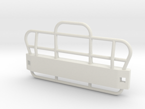 B61BullBar-1to16 in White Natural Versatile Plastic