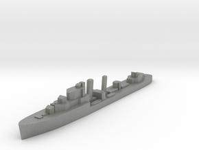 HMS Ivanhoe destroyer 1:2400 WW2 in Gray PA12