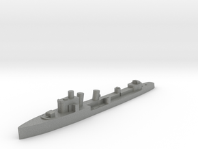 Italian Aquilone destroyer WW2 1:3000 in Gray PA12