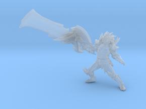 Monster Hunter Rathalos Blademaster miniature DnD  in Smooth Fine Detail Plastic