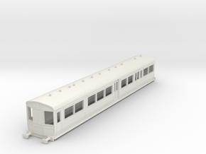 0-76-gcr-railcar-conv-pushpull-coach in White Natural Versatile Plastic