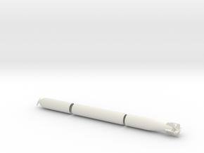 1/24 DKM G7 torpedo (21 in) KIT in White Natural Versatile Plastic