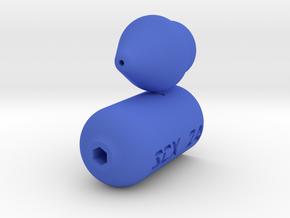 SCX24 Deadbolt Hex key Holder and 4mm nut driver in Blue Processed Versatile Plastic