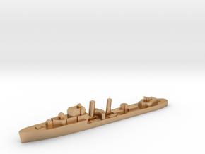 HMS Imogen destroyer 1:3000 WW2 in Natural Bronze
