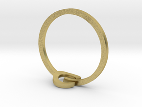 POWER ring in Natural Brass: 3 / 44