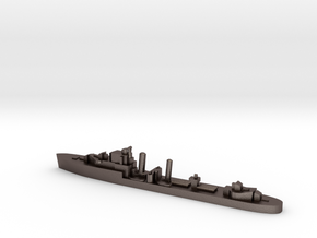 HMS Imperial destroyer 1:1200 WW2 in Polished Bronzed-Silver Steel