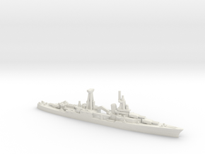 US Northampton-Class Cruiser in White Natural Versatile Plastic