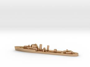 HMS Imperial destroyer 1:3000 WW2 in Natural Bronze