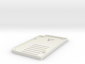 Einsy Controller Lid Rev 1 in White Natural Versatile Plastic