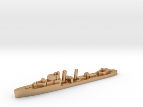 HMS Impulsive destroyer 1:2400 WW2 in Natural Bronze