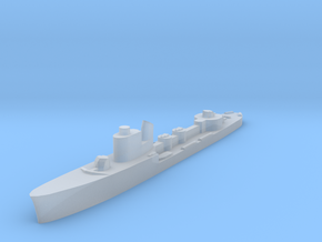 Italian Vega torpedo boat 1:1800 WW2 in Smoothest Fine Detail Plastic
