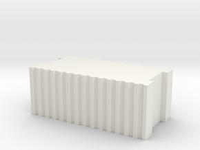Ziegelstein / Brick 1:50 in White Natural Versatile Plastic