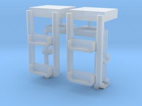 OO Gauge 2MT Step Pack in Smooth Fine Detail Plastic