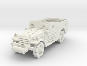 M3A1 Scoutcar early 1/56 in White Natural Versatile Plastic