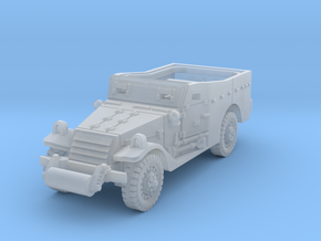 M3A1 Scoutcar early 1/144 in Smooth Fine Detail Plastic