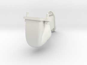 LeRhone 80 HP Intake assembly 1:5 scale in White Natural Versatile Plastic